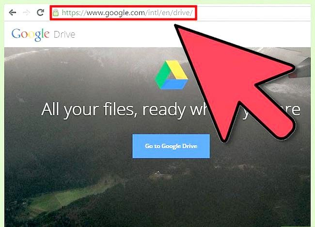 Prent getiteld Maak `n Google Doc Stap 1
