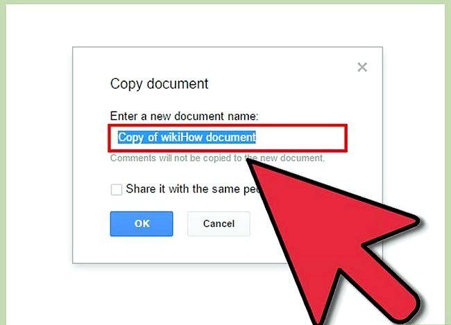 Prent getiteld Maak `n Google Doc Stap 16