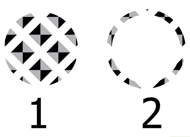 Prent getiteld Skep `n patroon in Adobe Illustrator Stap 11