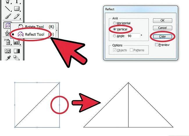 Prent getiteld Skep `n patroon in Adobe Illustrator Stap 3