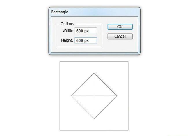 Prent getiteld Skep `n patroon in Adobe Illustrator Stap 5