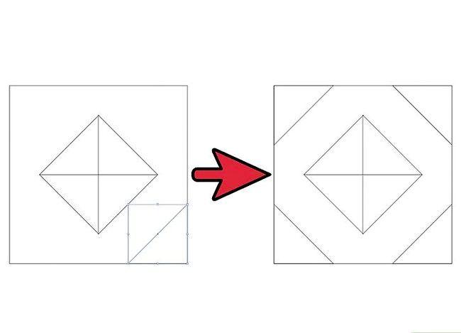 Prent getiteld Skep `n patroon in Adobe Illustrator Stap 6