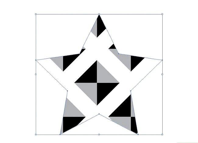 Prent getiteld Skep `n patroon in Adobe Illustrator Stap 10