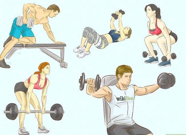Prent getiteld Verkry meer spiermassa en sterkte Stap 11