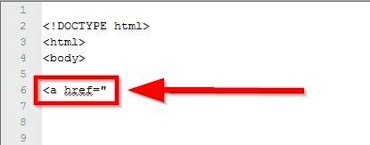 Beeld getiteld Maak `n prent skakel in HTML Stap 3