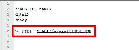 Beeld getiteld Maak `n prent skakel in HTML Stap 4