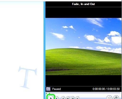 Prent getiteld Skep lirieke video`s vir YouTube met behulp van Windows Movie Maker Stap 9