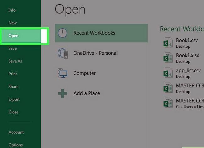 Prent getiteld `n databasis maak vanaf `n Excel Spreadsheet Stap 26