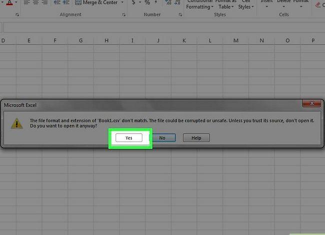 Prent getiteld `n databasis maak vanaf `n Excel Spreadsheet Stap 28