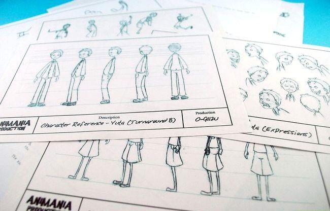 Prent getiteld Skep `n goeie animasie film Stap 4