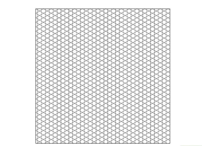 Prent getiteld Skep `n Isometriese Grid in Adobe Illustrator Stap 11