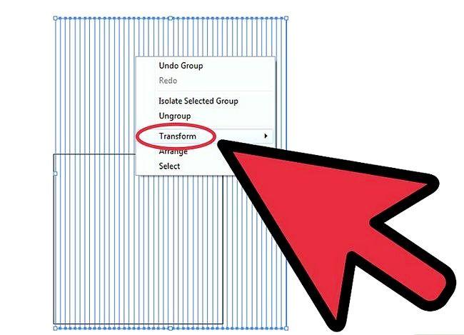 Prent getiteld Skep `n Isometriese Grid in Adobe Illustrator Stap 4