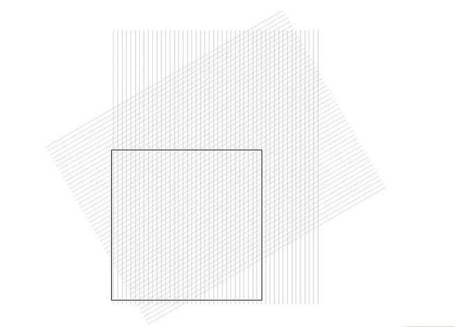 Prent getiteld Skep `n Isometriese Grid in Adobe Illustrator Stap 6