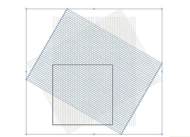 Prent getiteld Skep `n Isometriese Grid in Adobe Illustrator Stap 7