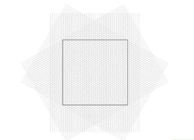 Prent getiteld Skep `n Isometriese Grid in Adobe Illustrator Stap 8