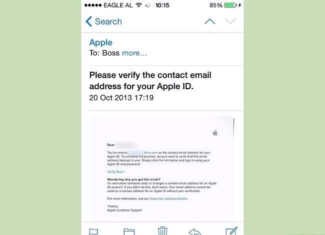 Beeld getiteld `n iTunes-rekening skep sonder `n kredietkaart Stap 18