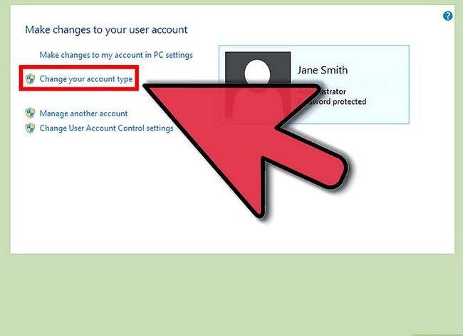 Prent getiteld Maak `n gebruikers rekening `n administrateur in Windows 8 Stap 3