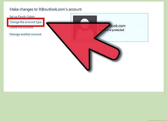 Prent getiteld Maak `n gebruikers rekening `n administrateur in Windows 8 Stap 10