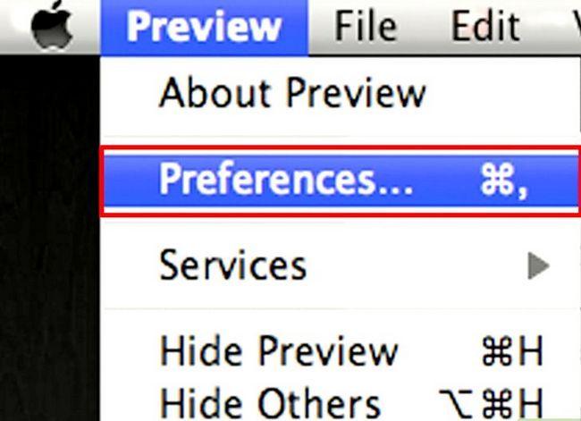 Prent getiteld Skep `n handtekening van `n ingeboude in Mac OS X Lion Step 2