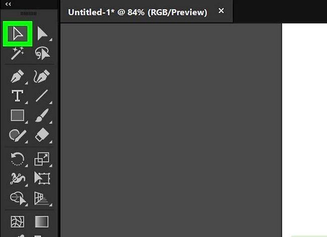 Prent getiteld Skep `n watermerk in Adobe Illustrator Stap 5