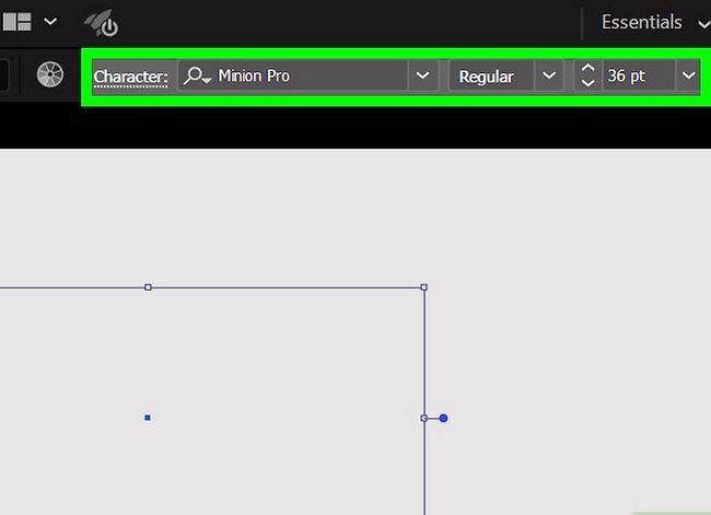 Prent getiteld Skep `n watermerk in Adobe Illustrator Stap 6