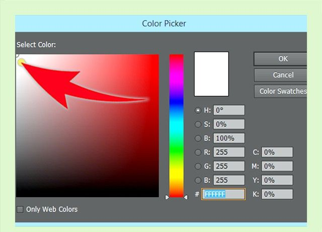 Prent getiteld Skep `n Adobe Illustrator Swatch Stap 1Bullet2