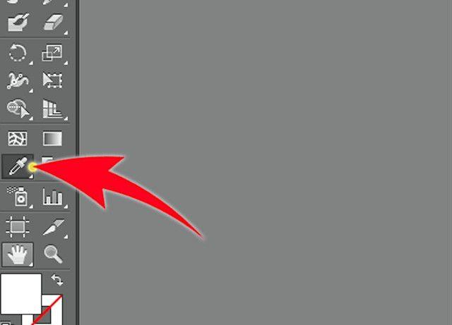 Prent getiteld Skep `n Adobe Illustrator Swatch Stap 1Bullet3