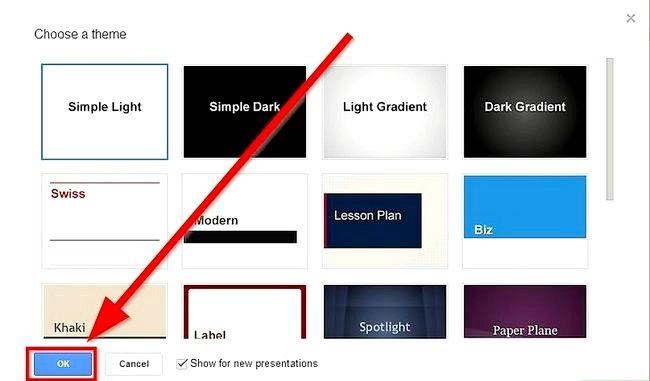 Prent getiteld Skep `n voorlegging deur Google Drive Stap 4 te gebruik