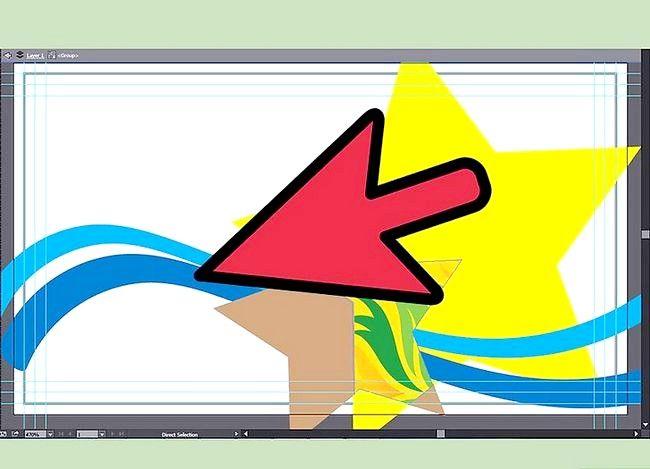 Prent getiteld Maak `n Besigheidskaart op Adobe Illustrator Stap 6