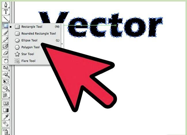 Prent getiteld Skep vektore in Adobe Illustrator Stap 4