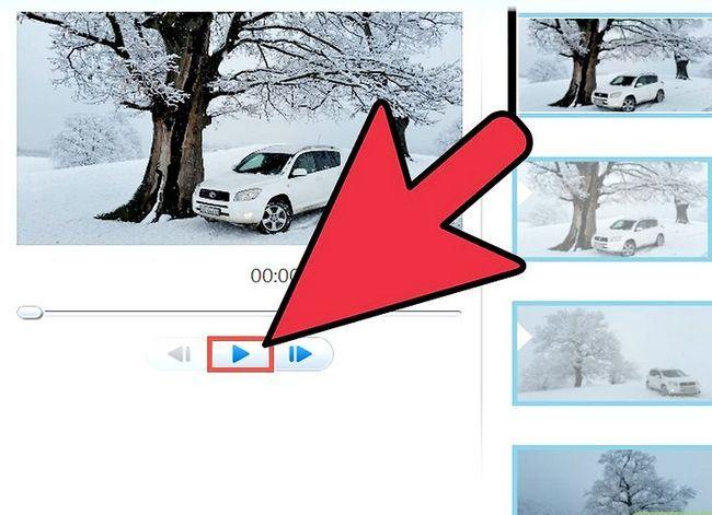 Prent getiteld `n video maak in Windows Movie Maker Stap 11