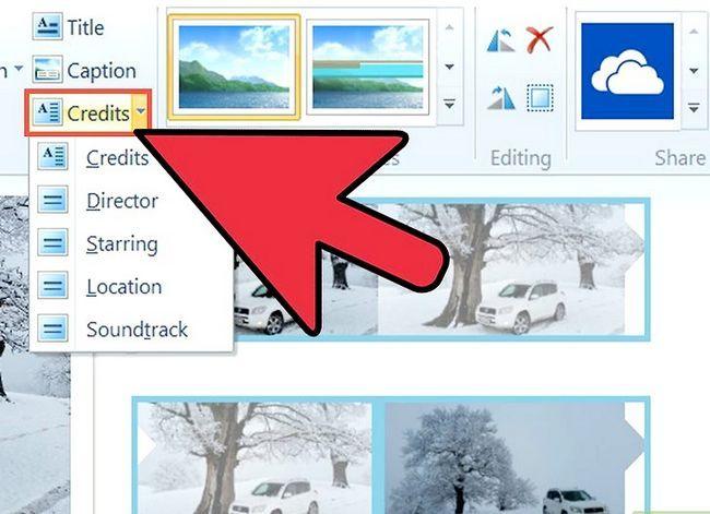 Prent getiteld `n video maak in Windows Movie Maker Stap 10