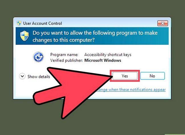 Prent getiteld Skep en bestuur `n verborge rekening in Windows 7 Stap 6