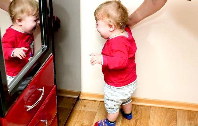 Prent getiteld Babysit moeilik om kinders te hanteer Stap 3