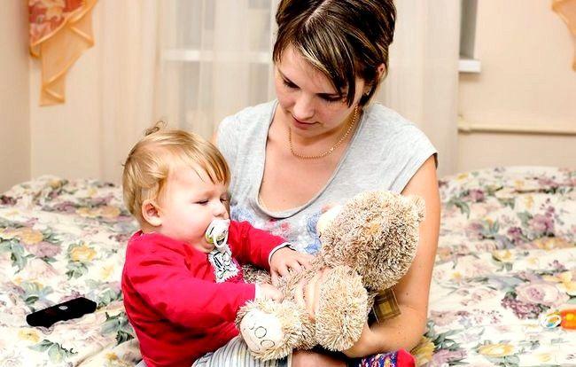 Prent getiteld Babysit moeilik om kinders Stap 7 te hanteer