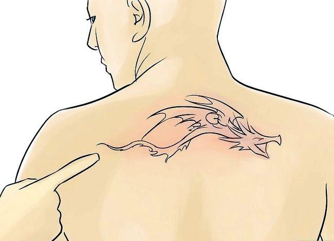Prent getiteld Sorg vir `n Tattoo Stap 14