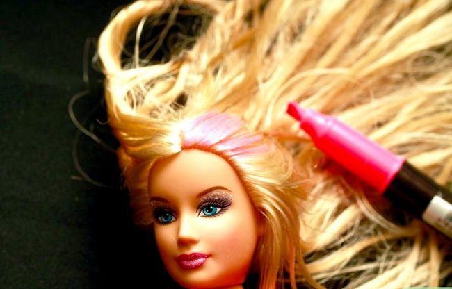 Prent getiteld Gee `n Barbie na Makeover Stap 6