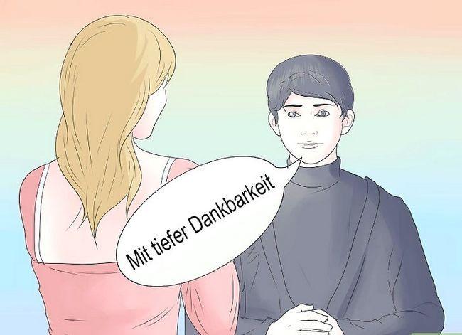 Prent getiteld Sê dankie in Duitse Stap 8