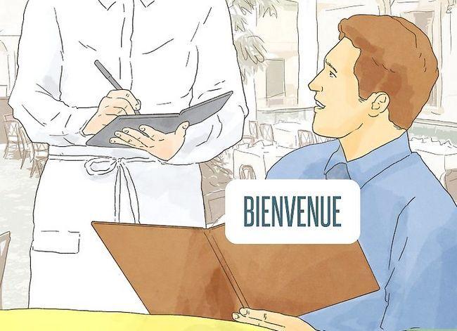 Prent getiteld Sê dankie in Frans Stap 17