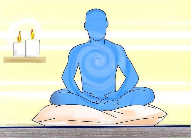 Prent getiteld Sê `n Boeddhistiese Gebed Stap 1