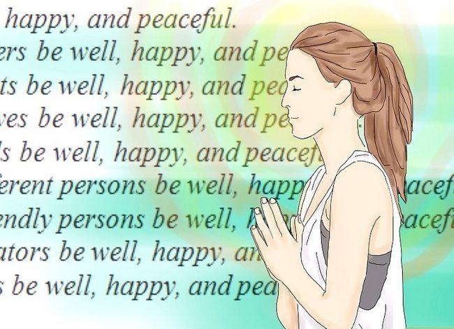 Prent getiteld Sê `n Boeddhistiese Gebed Stap 2
