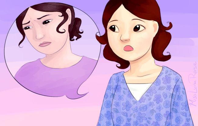 Prent getiteld Vrou praat oor haar gevoelens.jpg