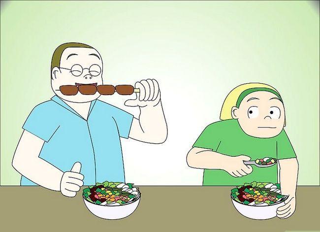 Prent getiteld Vertel jou ouers U wil `n Veganistiese of Vegetariese Stap 9 wees