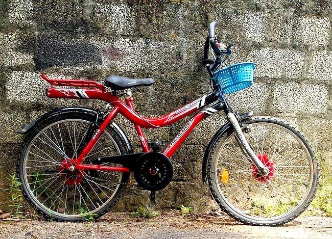 Hoe om `n fiets te versier