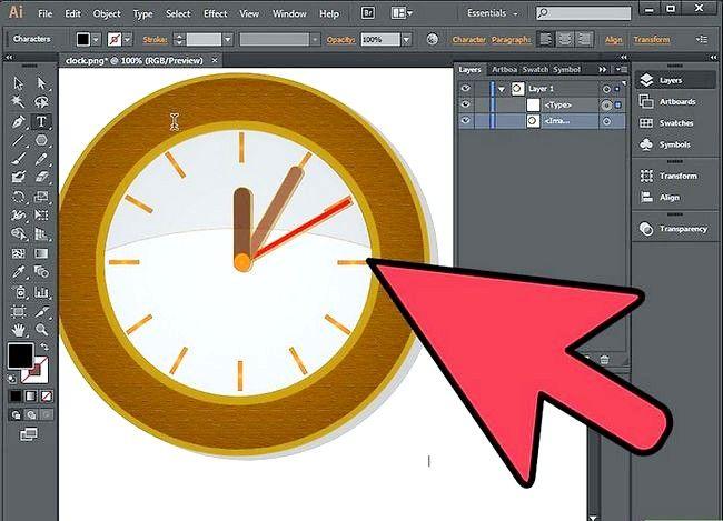 Beeld getiteld Warp an Object in Adobe Illustrator Step 2