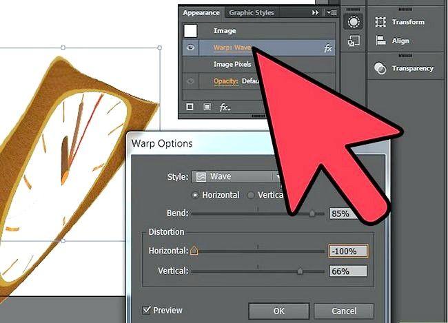 Beeld getiteld Warp an Object in Adobe Illustrator Stap 7