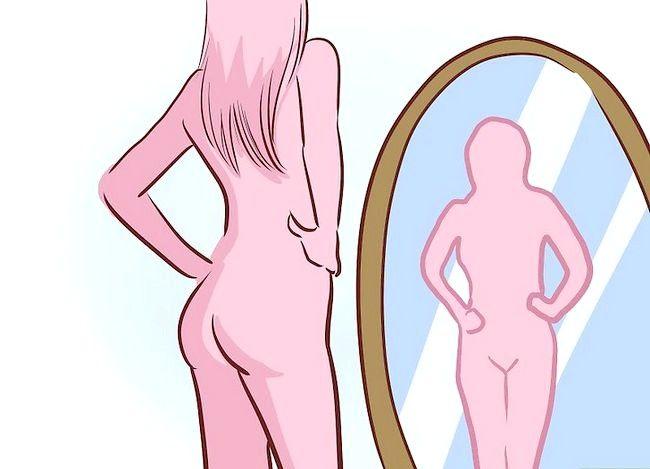 Prent getiteld Shave Your Bikini Line Stap 3
