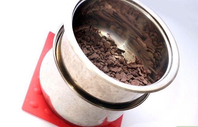 Prent getiteld Melt Chocolate Chips Stap 6