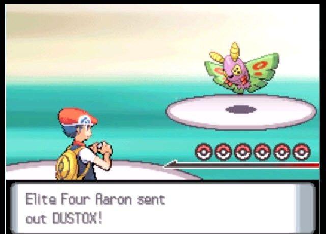 Prent getiteld Klop die Pokémon League in Pokémon Platinum Stap 1
