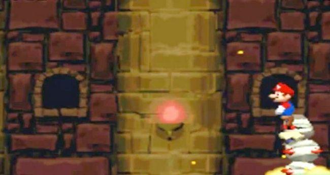 Prent getiteld Versla die baas in die laaste kasteel van die wêreld 2 as Mini Mario Stap 4